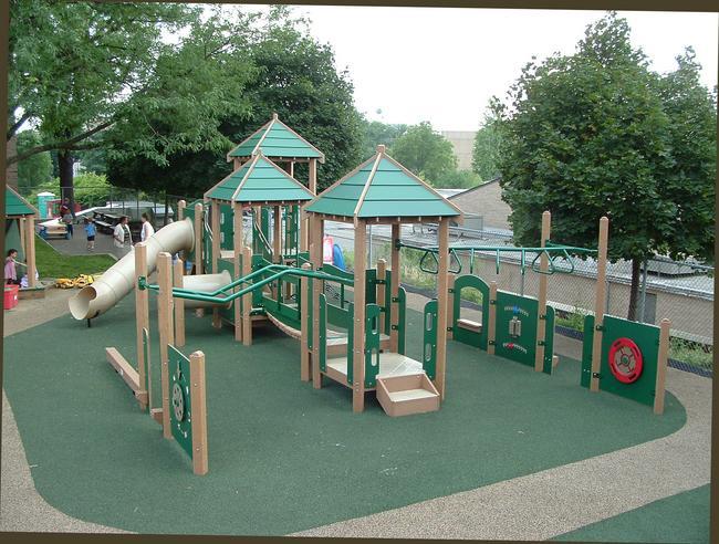 Preschool playground the image kid has it for Kindergarten playground design