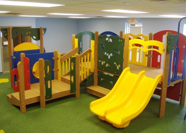 Meyer design playground equipment portfolio for Indoor gym equipment for preschool